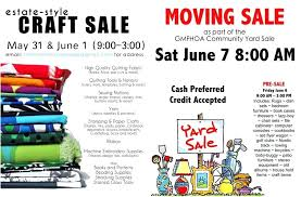 Garage Sale Flyers Community Yard Flyer Template Moving Co