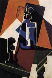 Seltzer Bottle And Glass 1917 By Juan Gris Art Reproduction from Wanford