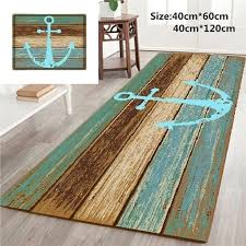 anchor bath rugs nautical anchor rustic wood 3d rugs bath mat bath rugs anti slip kitchen anchor bath rugs