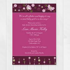 Invitation For Party Template Interesting Butterfly Baby Shower Invitation Garden Party Birthday Invite