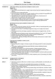 Sample Management Consultant Resume Resume Templates Sample Change Management Consultant Consulting 60 12