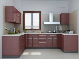 Kitchen:Pendant Lamp Square Wood Flooring Small U Shaped Kitchen Designs  With Island Shocking Image