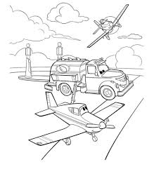 Dusty Crophopper Coloring Pages At Getdrawingscom Free For