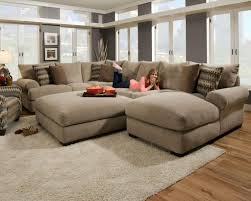ethan allen sectional sofas leather sofasethan attractive overstuffed sofa ethan allen sectional sofas v0
