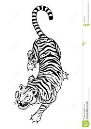 японский одичалый тигр азиатский кот взгляд сверху заплата моды