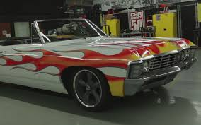 Hot Rod Paints a 1967 Chevrolet Impala – In A Back Yard