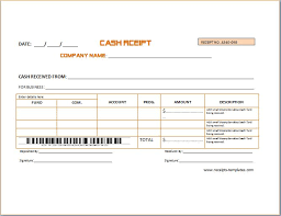 Proof Of Receipt Template Sample Advance Receipt Template Receipt Templates