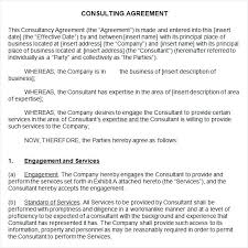 Simple Professional Services Agreement Template Nanny Contracts Best ...