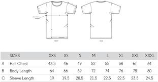 Mens T Shirt Size Chart Open Heart Men S T Shirt 100 Organic Cotton