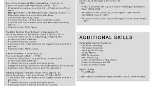 Avid Resume Template Hockey Player Resume Template Best Of Best Professional Resume 6