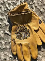custom leather riding gloves
