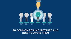 How To Avoid Common Resume Mistakes | Simplilearn