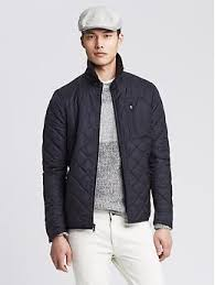 7 best spring jackets images on Pinterest | Banana, Casual outfits ... & Navy Quilted Jacket · Jackets For MenMen's ... Adamdwight.com
