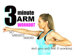 3 minute arm toning workout no weights need and you will feel it working start now
