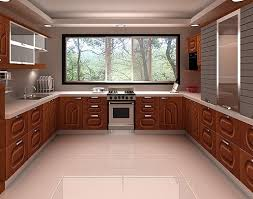U Shaped Kitchen Design Layout
