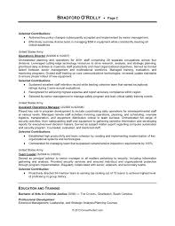 Example Military Resume Inspiration Resume Example Military To Civilian Swarnimabharathorg
