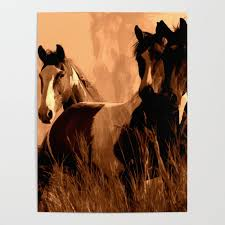 Cheap Horse Posters Horse Spirits Poster By Onlinegifts