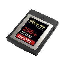 Thẻ nhớ CFexpress 2.0 SanDisk Extreme Pro 256GB Type B SDCFE-256G-GN4IN |  Memoryzone - Professional in memory