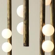 lindsey adelman chandelier replica bubble 8