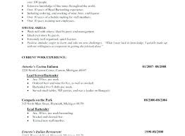 Fine Dining Server Resume Example 40 Job Resume Sample Fine Dining Best Fine Dining Server Resume