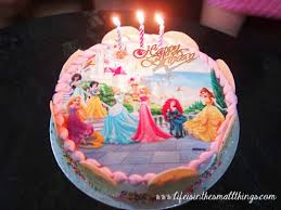 Swensens Disney Princess Ice Cream Cake