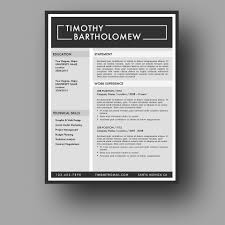Eye Catching Resume Templates Microsoft Word Modern Resume Template Cover Letter Two Page Use With