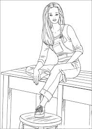 Small Picture Barbie fashion coloring pages 147 Barbie Fashion Kids