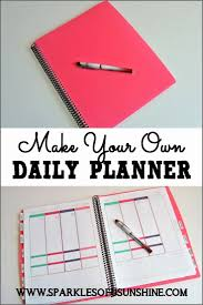 Custom Daily Planner Custom Daily Calendar Best 25 Design Your Own Planner Ideas On