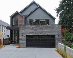 black garage doorChamberlain Garage Door Opener On Garage Door Window Inserts With