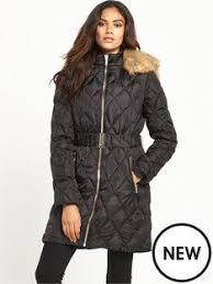 David Barry Black ladies quilted coat | Debenhams | 2016/17 new ... & lipsy-long-quilted-padded-coat. Long Puffer CoatPuffer CoatsWomen's ... Adamdwight.com