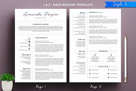 2 Page Resume Template Enchanting 48 Page Resume Template Coachoutletus