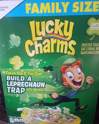 nutrition label for lucky charms ireland dublin eats part 1 veggie next door