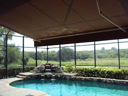 Pool Cage Designs Patio Shades Pool Shade Pool Enclosures Screened Pool
