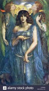 this painting by rossetti titled astarte syriaca and also venus astarte measured 74 inches by 43 inches