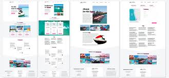 Inventive Format Design Process When Creating A Jet Ski Rental Website