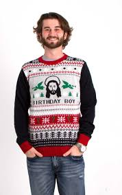 Unisex Ugly Christmas Sweater Birthday Boy