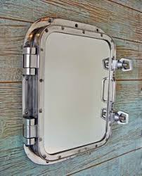 ... Porthole Medicine Cabinet An Authentic Ship's Porthole Window Recycled  From The Shipping Industry That We Have ...