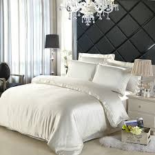 how to properly take care of silk bed sets lostcoastshuttle with regard to elegant property luxury black and white bedding sets plan
