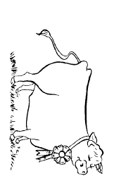 Farm Coloring Pages Sheepdog With Sheep Valentinamionme