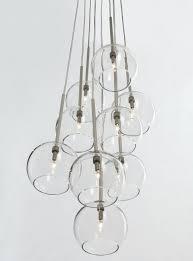 globe light chandelier easy pieces modern glass globe chandeliers eliana 6 light black linear glass globe globe light chandelier