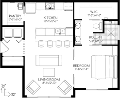 tiny house plan. Empty Nesters\u0027 House: Plan No.580762 House Plans By WestHomePlanners.com Pantry Tiny