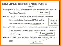 Example Of Reference Reference In Apa Format Example Solid Clique27 Pertaining To