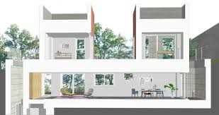 On the left there's a leather sofa and small table nearby, on the right you can see home cinema and satellite receiver. Farming Architecture Poly House A New Interpretation Of The Functions And Aesthetics Of The Ideal Home Divisare