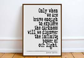 on brene brown wall art with brene brown quote digital download wall art gift
