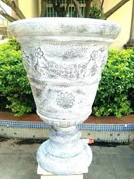 plastic urn planters tall plastic planters big c lovely whole decorative large garden urn planter white plastic urn planters whole