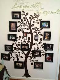 family tree wall art picture frame