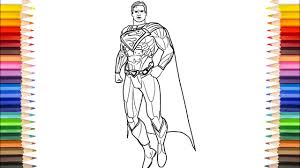 Superman coloring pages for kids. Superman Coloring Pages Injustice League Superman Coloring Pages Youtube
