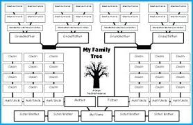 Excel Templates Family Tree Excel Family Tree Template Family Tree Lesson Plans Large