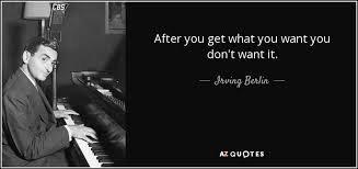 TOP 25 QUOTES BY IRVING BERLIN | A-Z Quotes