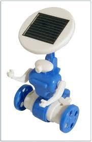 solar powered desk toys uk